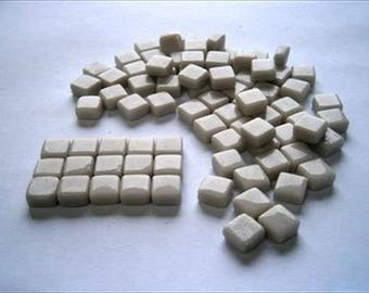 Micro Mosaic 8mm Tiles 100 pack Mosaic Heaven Micro Mosaic Tiles, Stone I2 Tesserae, Tessera.