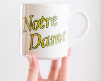 Vintage Notre Dame Mug