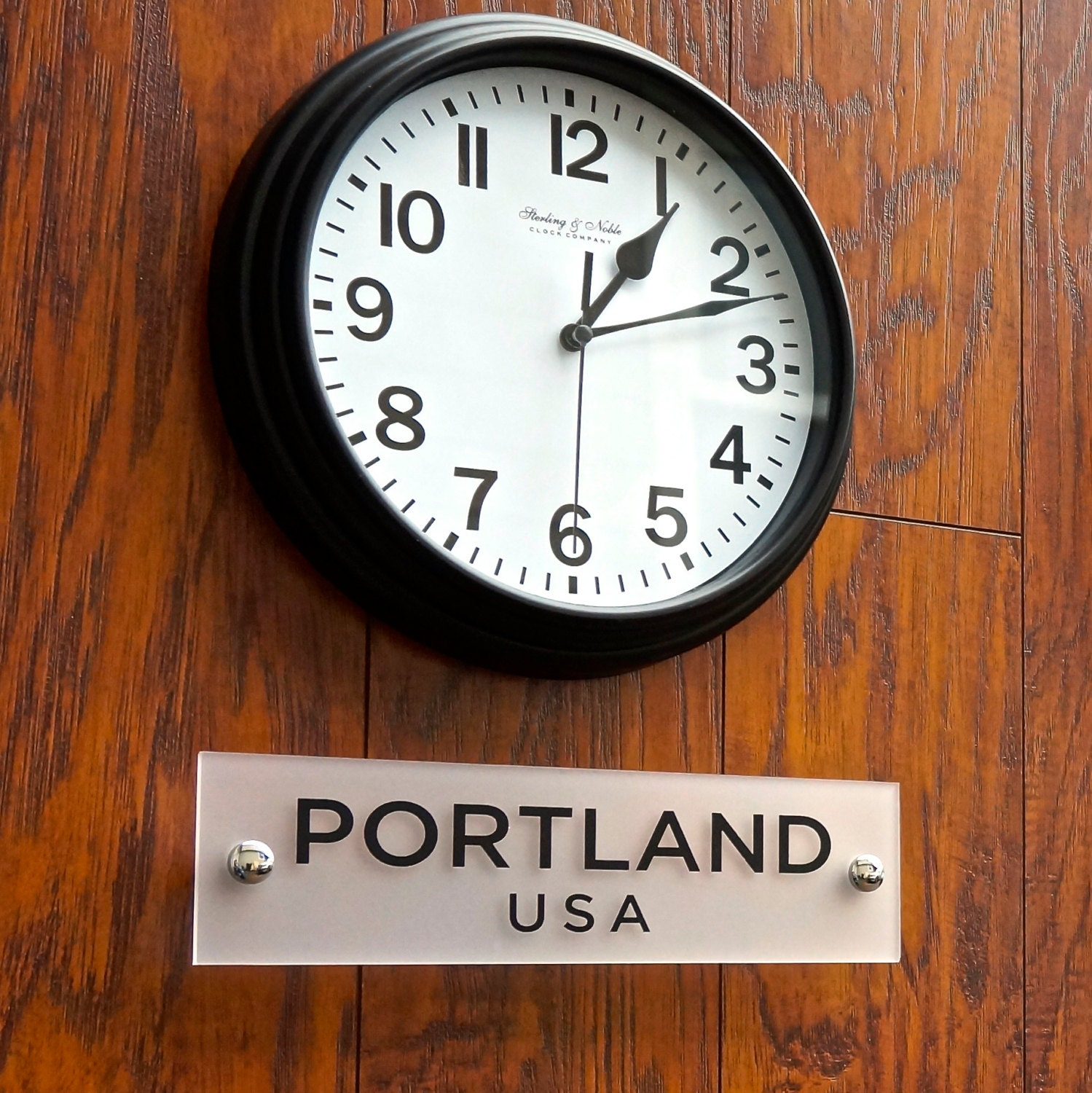time zone clock sign world clock sign acrylic sign for wall