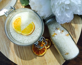 Satsuma & Grapefruit Dead Sea Bath Salts