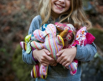 myHeartyKid handmade toy  +  an eguidebook to teach self-esteem PLUS an entire FREE package for a classroom!