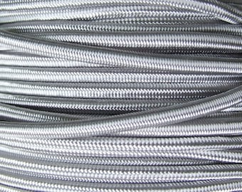 WIRE elastic 3mm gray clear x1m