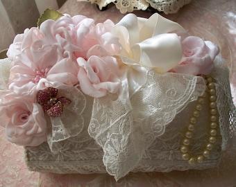 Embellished Vintage Beaded Purse