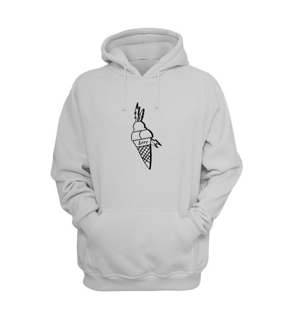 Ice Cream Tattoo Hoodie- Gucci Sale, Face Tattoo, Gucci 2016, Gucci Art Hoodies by Raw Clothing