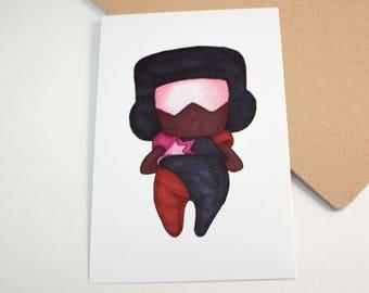 Mini Garnet - 4x6 Print [ Steven Universe / Fan Art / Chibi ]