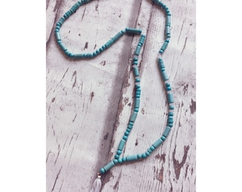 Boho, Bead Chain, Bead, Bohochic, Tassel, Turquoise