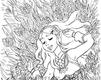 Zelda Breath of the Wild Coloring Page
