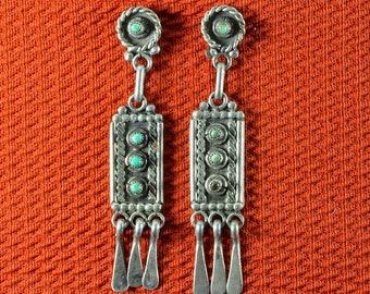 Native American  Old Navajo Earrings