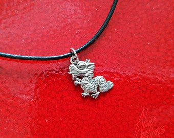 I AM FIRE! - Dragon necklace