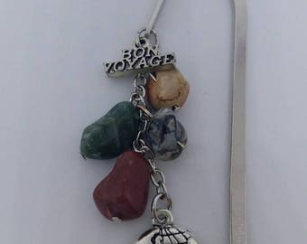 "Bookmark ""Good journey"" / jewelry for book / bookmark"