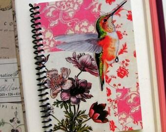 Hummingbird A6 Notebook - Spiral Bound