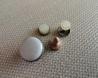 C163)  Antique Unique and Various Stud Buttons