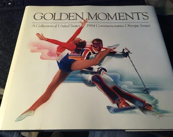 1984 Golden Moments Olympic Book Usps