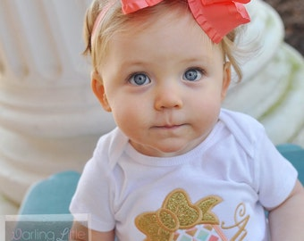 """Large Ruffle Bow -- 6"""" Double Layer ruffle bow, optional headband - TONS of color choices - trending colors handmade in Tennessee"""