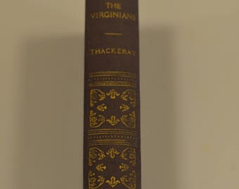 Vintage The Virginians book by Thackeray