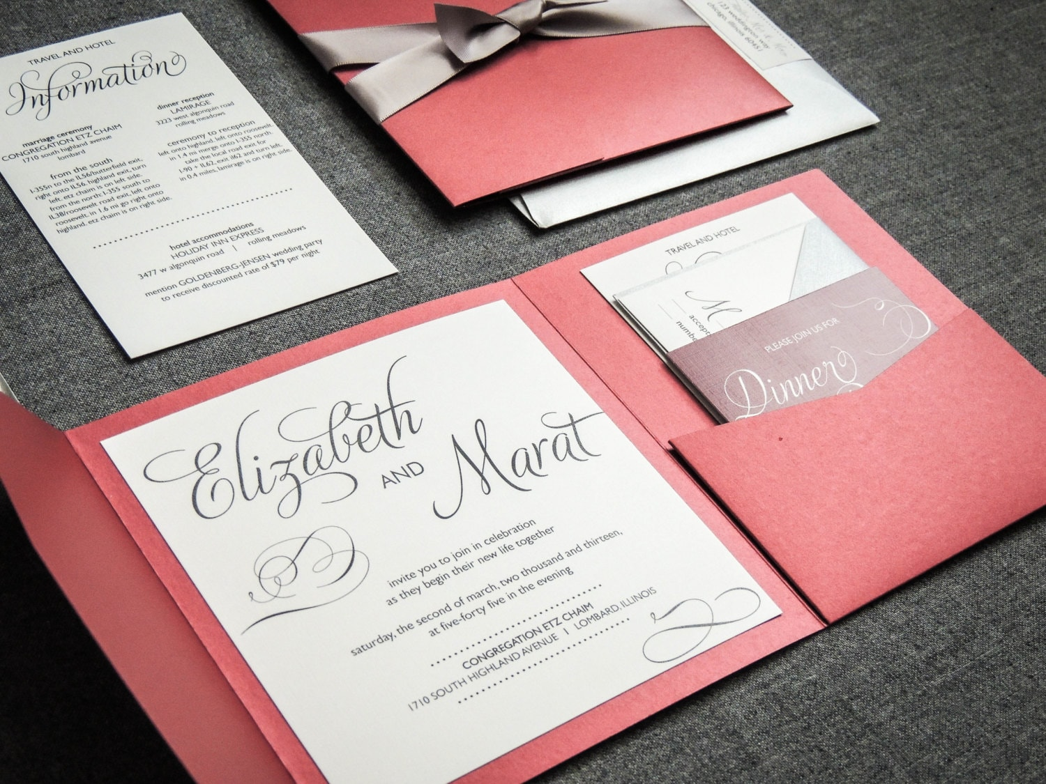 White And Red Wedding Invitations: Marsala Wedding Invitations Red And Black Wedding Invitation