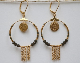 Creole FOLK pearls and chains
