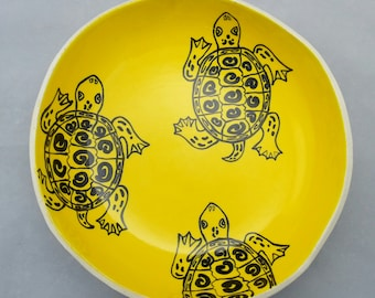 Diamondback Terrapin Serving Bowl