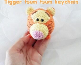 Tsum Tsum Amigurumi Pattern Free : Tsum tsum keychain etsy
