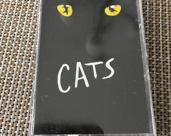 Cats Original Soundtrack Cassette Tape Like New Condition