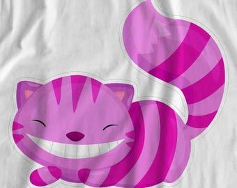 Alice In Wonderland - Cheshire Cat - Iron On Transfer