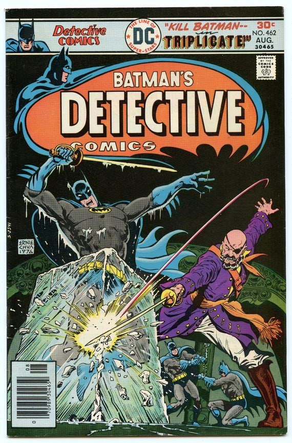 Detective Comics 462 Aug 1976 VF (8.0)