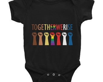 Together We Rise Infant Bodysuit
