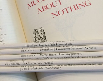 Much Ado About Nothing Wrapped Pencil Set