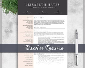 professional teaching resumes