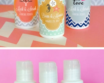 Beach Wedding Favors Beach Theme Favors Beach Theme Wedding Favors Beach Theme Party Favors Birthday Baby Shower Sunscreen (EB2030Z) 12| pcs