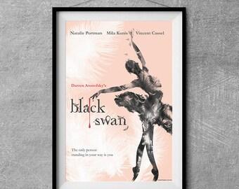 Black Swan Alternative Movie Poster - Original Illustration