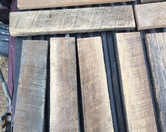 6 Nice wood boards, barnwood