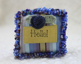 Lavender filled sachet