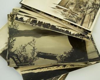 Postcards, Postcard Set, Post Cards, Old Postcards, Vintage Postcards, Vintage Post Cards, French Postcards, Travel Postcards, Ephemera