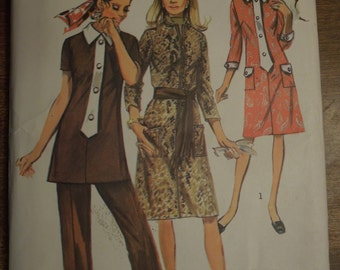 Simplicity 9170, size 14, dress, tunic, pants, UNCUT sewing pattern, craft supplies, misses, womens