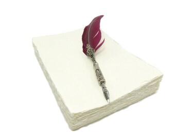 Handmade paper DIN A4 - 100 sheets - Wild Border