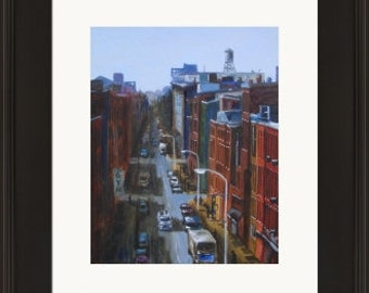 Old City Philadelphia - Framed Limited Edition Print