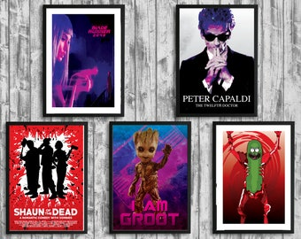 Any 5x Prints of Your Choice | Money Saving Offer Discount | Poster Print Design | A0 A1 A2 A3 A4