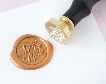 Snail Mail Wax Seal Stamp