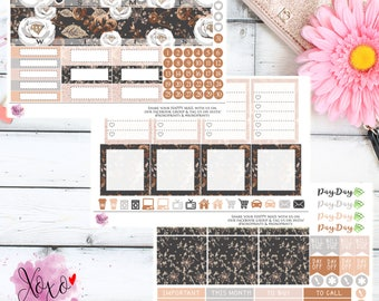 Rose Gold Monthly Kit for your Happy Planner