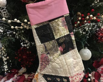 Quilted Christmas Stocking