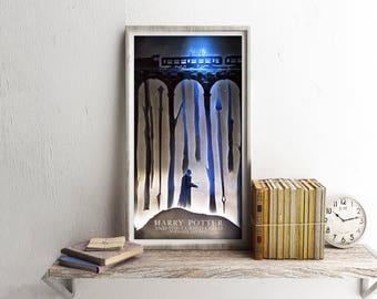Harry Potter | Alternative poster | Cursed Child | Forbidden Forest | poster | print |  papercut | artprint |