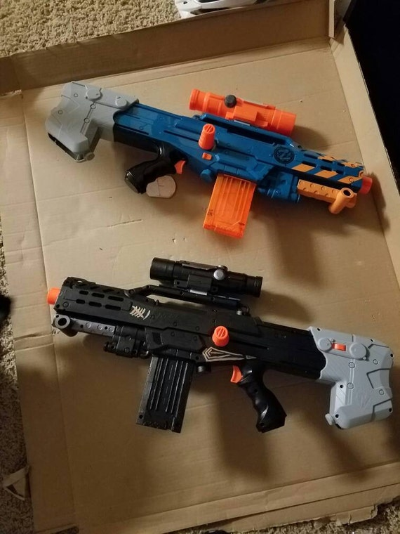 Nerf modding tutorial – Paint effects and different finishes