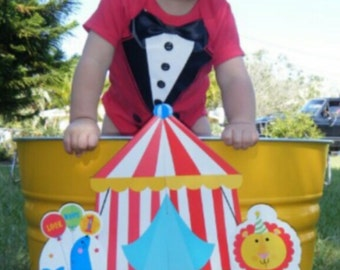 Ringmaster _ Circus Party  bodysuit or shirt _ Photo prop_ Ring Master shirt_ Birthday shirt_ first birthday _ Circo