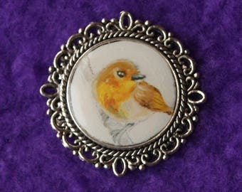 Miniature Painting - Robin