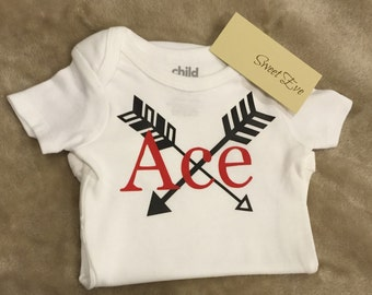 Custom Name arrow bodysuit