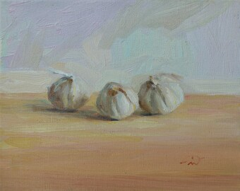 Three Garlic Globes
