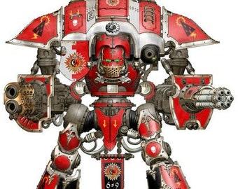 Imperial Knight Crusader warhammer wargame