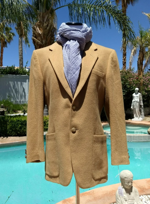 Givenchy Soft Wool Blazer,Camel Colored