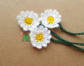 Small Daisy Umbilical Cord Tie for Newborn Baby - MADE TO ORDER